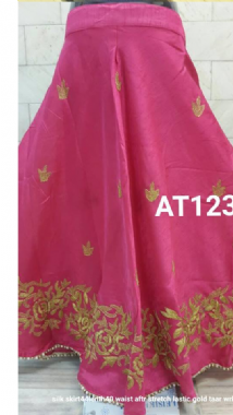 Pretty Pink Thread Work Lehenga